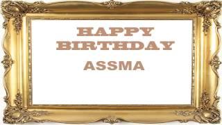 Assma   Birthday Postcards & Postales - Happy Birthday