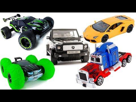 Все машинки на радиоуправлении Все серии подряд Сборник RC Cars Toys