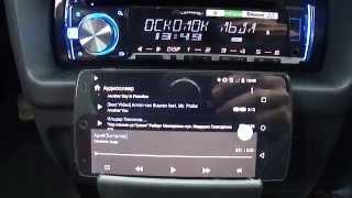 Функция Bluetooth audio на Pioneer DEH-X5600BT