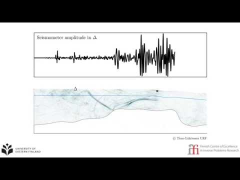 Estimation of volume of groundwater in an aquifer based on seismic measurements