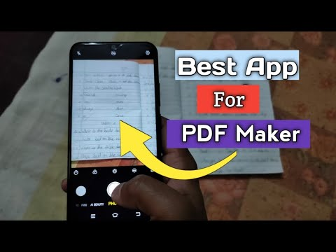 Best App For PDF Maker 2020 || Create PDF File In Simple Steps ||