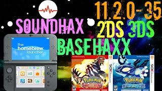 How To Install Homebrew: SOUNDHAX/BASEHAXX On 11.2.0-35 2DS 3DS New 3DS XL
