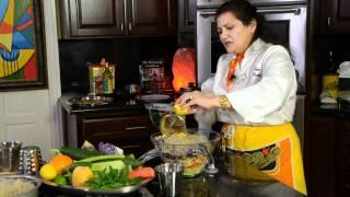 Jael Tanti Asian Salad With Kelp Noodles