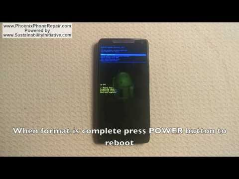Motorola Droid RAZR M Hard Reset / Factory Reset / Password Removal