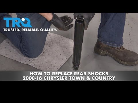 How to Replace Rear Shocks 08-16 Chrysler Town & Country