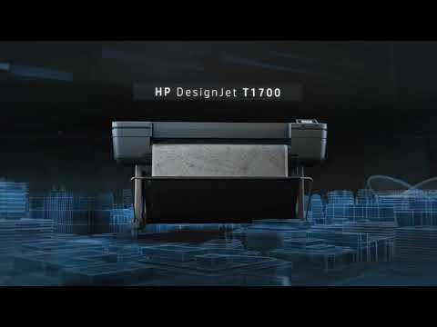 Product video – HP DesignJet T1700