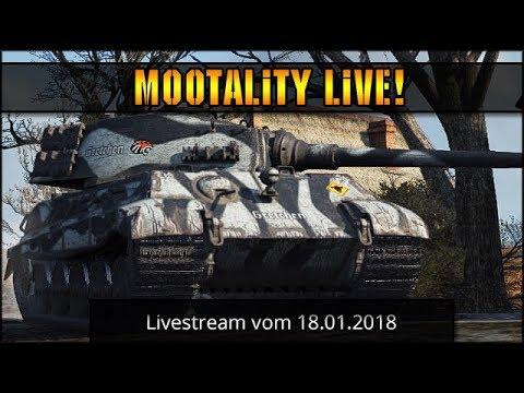 World of Tanks - Livestream vom 18.01.2017 [ deutsch 🐄 gameplay ]