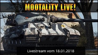 World of Tanks - Livestream vom 18.01.2018 [ deutsch 🐄 gameplay ]