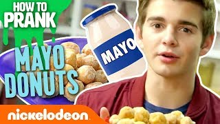 How to Prank | Jack Griffo Makes Mayo Doughnut Holes | Nick
