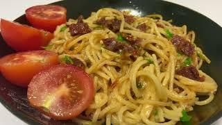 Паста с ВЯЛЕНЫМИ ТОМАТАМИ и Сливочным Сыром Итальянская Кухня Рецепт 22