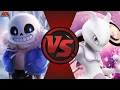 SANS vs MEWTWO! (Undertale vs Pokémon) Cartoon Fight Club Episode 153