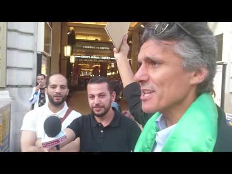 Victoire de Rachid Nekkaz sur la police française sur les Champs-Élysées