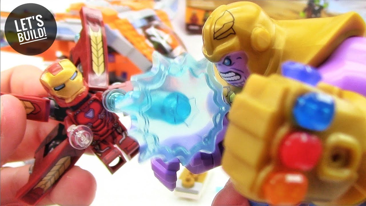 Lego Avengers Thanos Ultimate Battle 76107 Let S Build