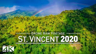 【4K】Drone RAW Footage | This is SAINT VINCENT AND THE GRENADINES 2020 | UltraHD Stock Video