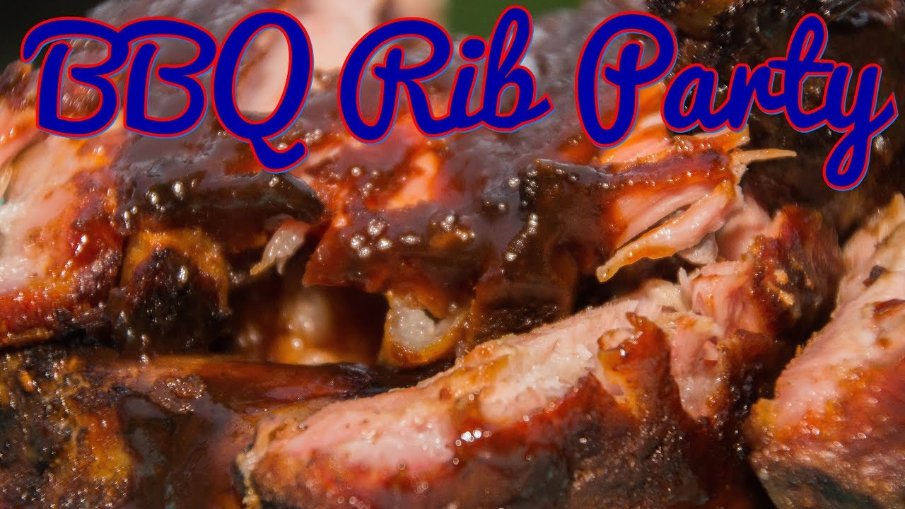Spareribs Gasgrill Zeitler : Bbq rib party spare ribs vom watersmoker youtube