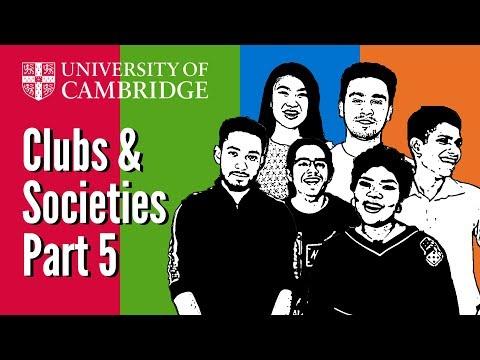 Student societies at Cambridge University: ACS, ABACUS, Archimedeans, Bangla