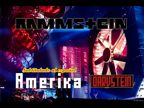 Rammstein - Amerika (Subtitulado al Español) (Live 2012)