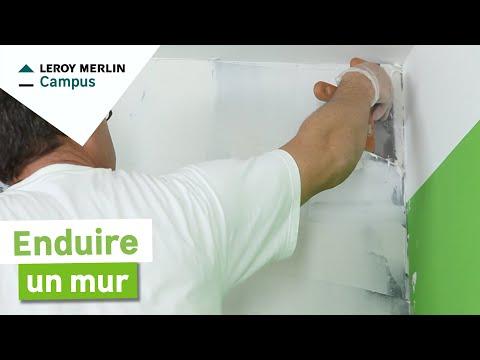 Comment Enduire Un Mur Leroy Merlin Youtube