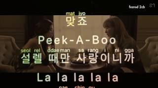 [KARAOKE] RED VELVET - PEEK-A-BOO