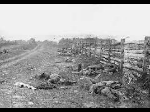THE BLOODY LANE At Antietam (Sharpsburg) Battlefield