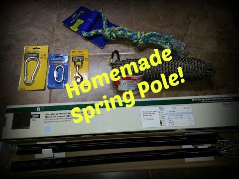 How To Make a Spring Pole for Pitbulls!