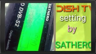 How to load the sathero sh 100hd satellite finder signal meter