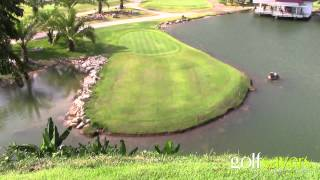 Is this the strangest golf hole you have ever seen?
