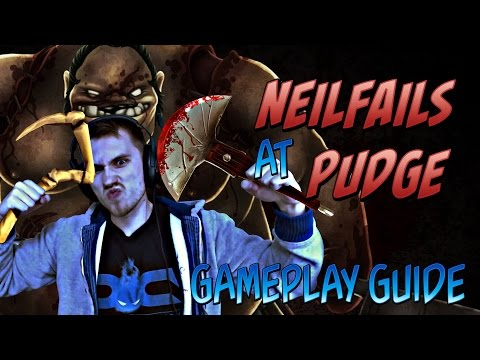 Dota 2 NeilFails Guide - Pudge (April Fools)