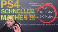 Playstation 4 in nur einer Minute schneller machen - Download verbessern - Tutorial Deutsch
