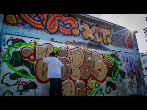 Graffiti Throw Up - LIPES - WNM [ We need Money]