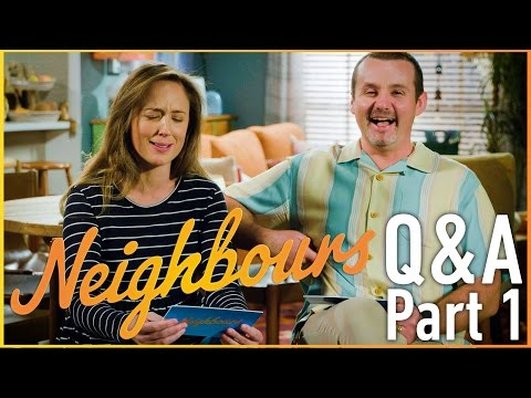 Eve Morey (Sonya Rebecchi) and Ryan Moloney (Toadie Rebecchi) Q & A - Part 1