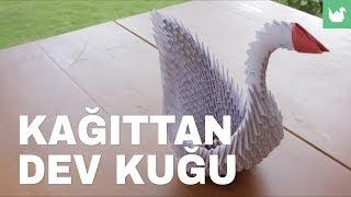 Origami: Kağıttan Dev Kuğu Yapımı
