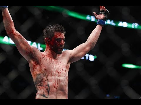 The highlights of Carlos Condit, the natural born killer. In his prime he was a force to be reckoned with, unfortunately he's on a 5 fight skid, and is 2-8 in his last 10 fights. He fights court McGee this weekend for the