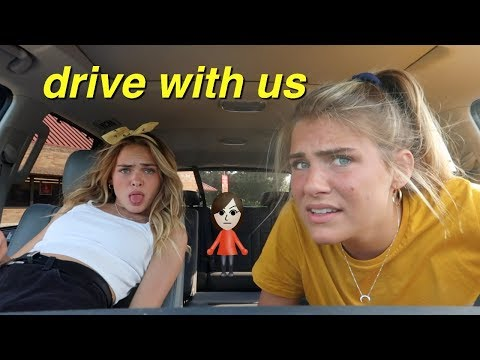 DRIVE WITH US (ft. my sis Brie) !!! | Summer Mckeen