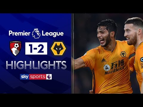 Wolves capitalise on superb Moutinho free-kick | Bournemouth 1-2 Wolves | Premier League Highlights