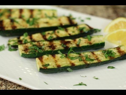 Grilled Zucchini With Lemon and Fresh Basil by Rockin Robin