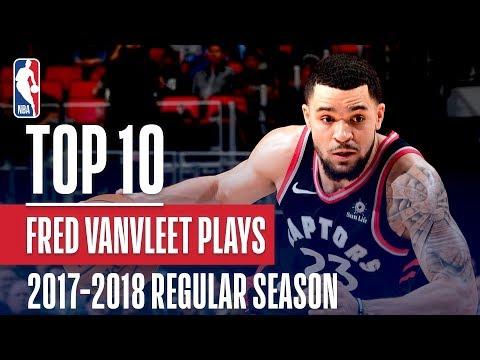 Fred VanVleet's Top 10 Plays of the 2017-2018 NBA Regular Season