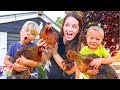 Revealing Our NEW CHICKENS NAMES!!