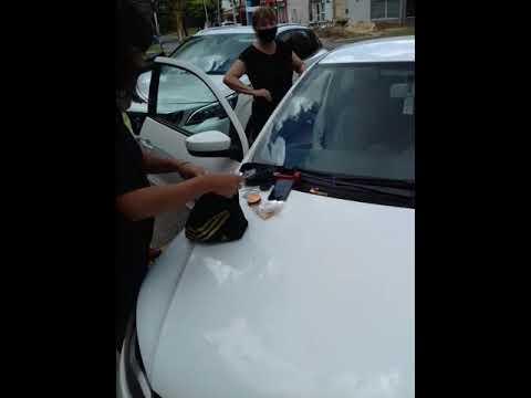 Dos personas fueron detenidas este viernes en Paraná por que transportaba estupefacientes 05