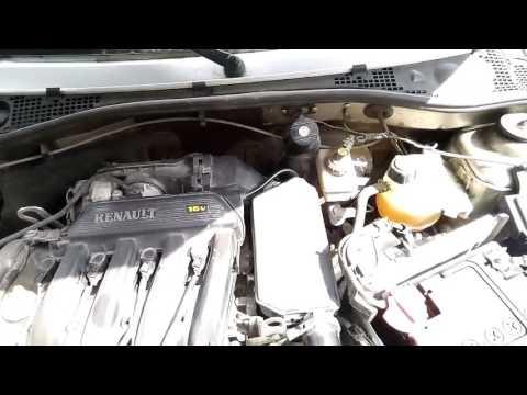 Замена воздушного фильтра двигателя шестнадцатиклапанника Рено к4м