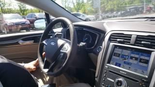 2017 Ford Fusion Platinum Park Assist