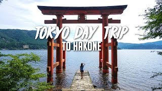 Day Trip from Tokyo to Hakone