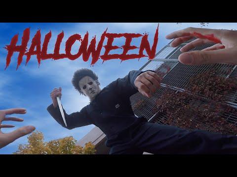 Halloween Michael Myers VS Parkour POV