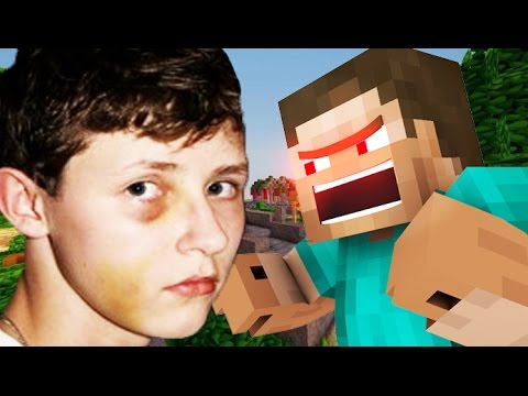 GETTING BEAT UP IN MINECRAFT! (Minecraft Voice Trolling) - videogames  - hlTPBsxIqu4 -
