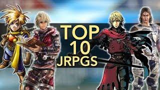 Top 10 JRPGs (No Squaresoft) | Mike
