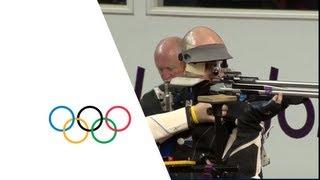 Campriani (ITA) Wins 50m Rifle Shooting 3 Position Gold - London 2012 Olympics