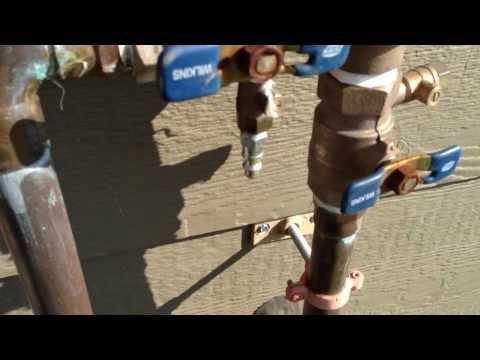 sprinkler valve hook up