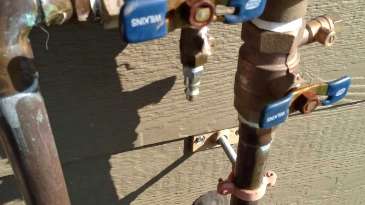 How To Blow Out Your Sprinkler System Winterizing