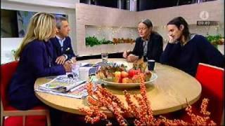 Kleerup ur form i nyhetsmorgon, TV4. 20/10/2010