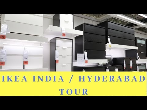IKEA Home Furnishing Store Tour / IKEA HYDERABAD | IKEA India | First Indian IKEA